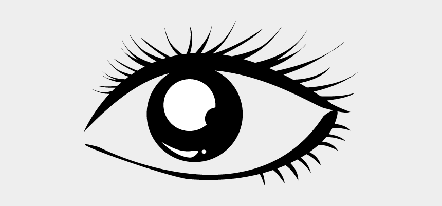 heavenly clipart, Cartoons - School And Study - Eye Clip Black And White