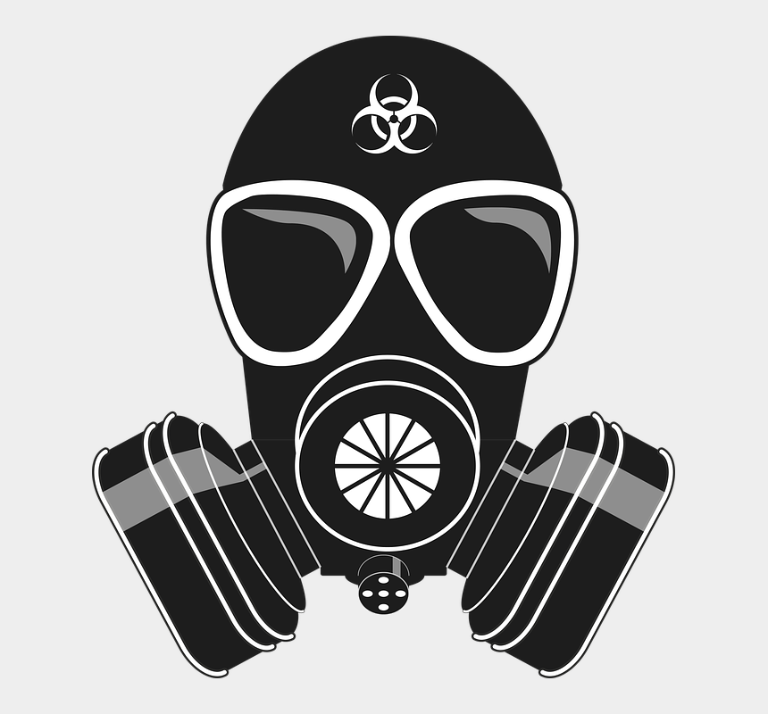 gas masks clipart, Cartoons - Png Photo, Clip Art, Free Pics, Masks, Pictures - Gas Mask With Biohazard Symbol