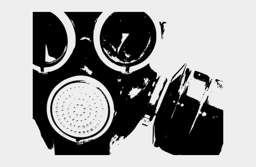 gas masks clipart, Cartoons - Gas Mask Clipart Black And White - Gas Mask Icon Png