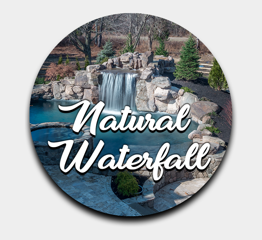 waterfalls clipart, Cartoons - Slopes, Hills, And Walls Are Great Places For Waterfalls - Waterfall