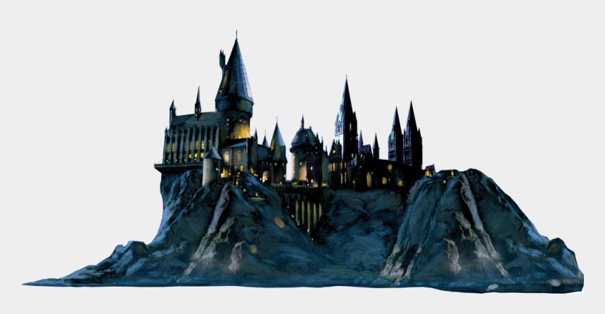 hogwarts castle clipart, Cartoons - Harry Potter Castle Png