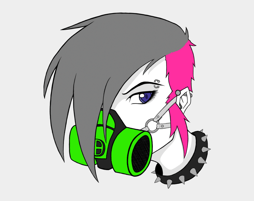gas masks clipart, Cartoons - Gas Mask Girl By Wraithdragon - Drawing Of Girls With Gas Mask