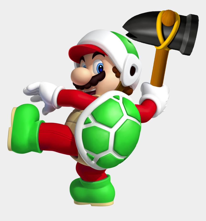 sledge clipart, Cartoons - Super Mario Clipart Brick Pile - Hammer Bro Mario Power Up