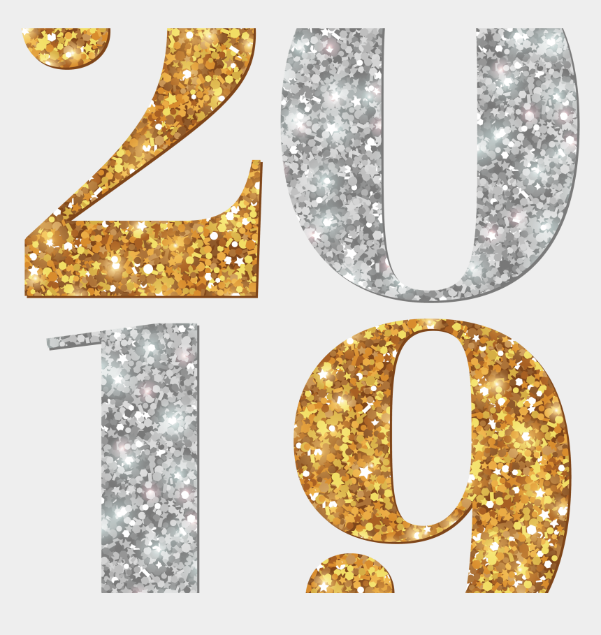 happy new year banner clipart, Cartoons - Holidays - 2019 Png Images Hd