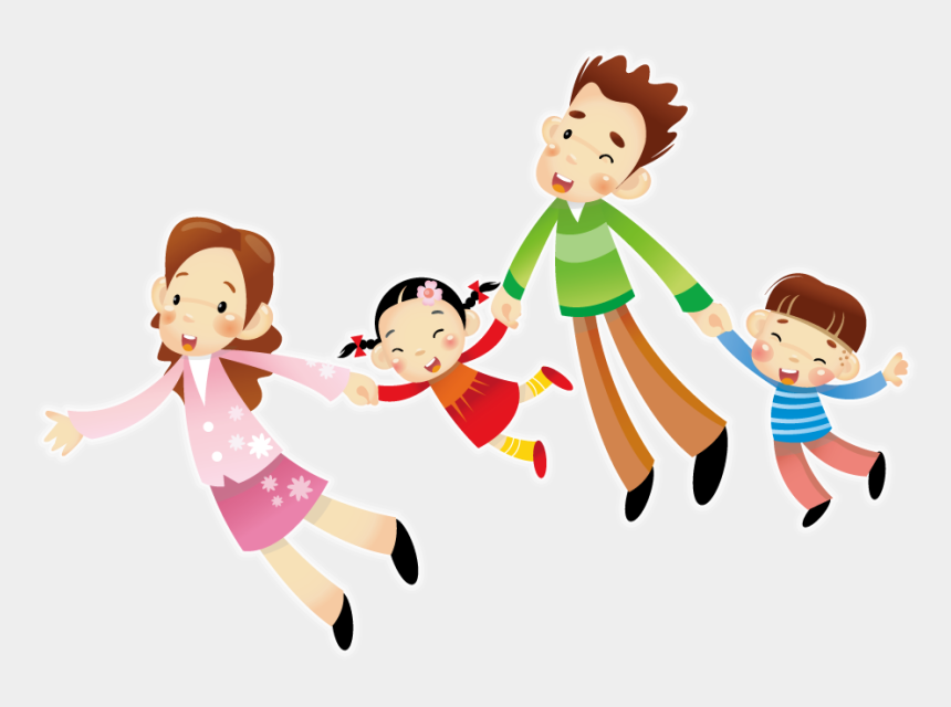 parent and child clipart, Cartoons - Child And Parent Png - Illustration