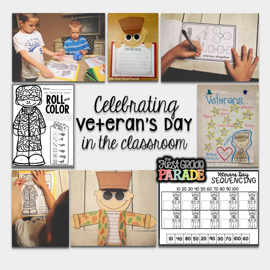 veterans day thank you clipart, Cartoons - I Absolutely Love Teaching My Kids About Veterans And - Veterans Day Project First Grade