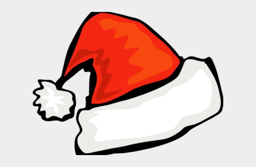 santa hat clip art, Cartoons - Picture Of Santa Hat - Santa Hat Clipart