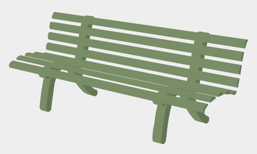 gardening clipart, Cartoons - Outdoors Garden Cliparts - Bench Clip Art