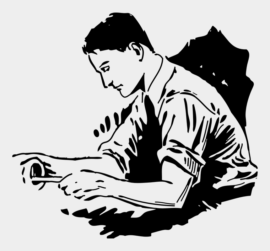 wrestling clip art, Cartoons - Handyman-vector - Man Working Clip Art