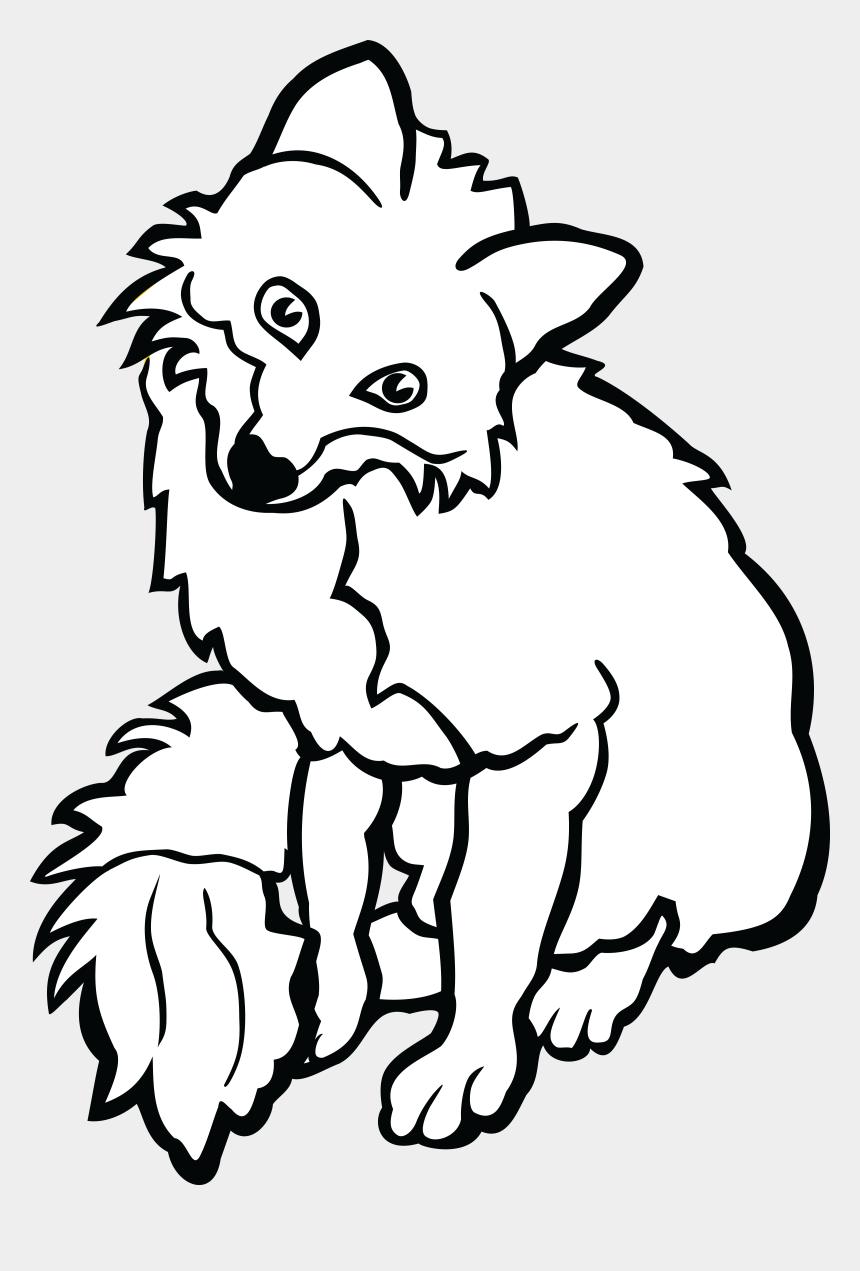 fox clip art, Cartoons - Fox Black And White Clipart - Black And White Clipart Fox