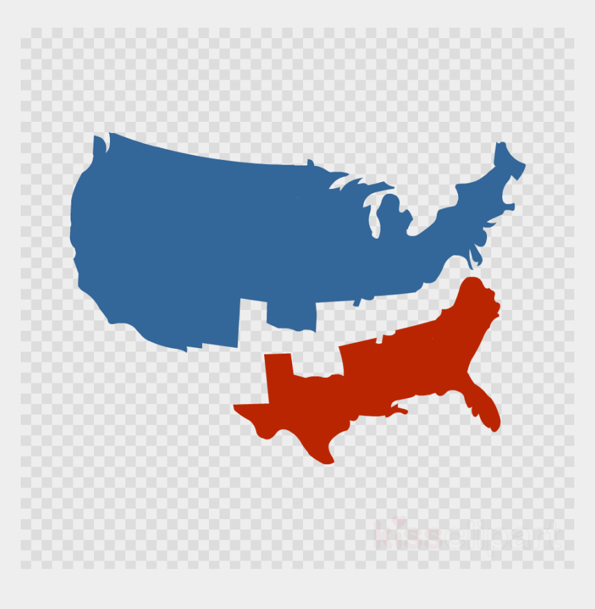 Download Vector Usa Map State Outline Clipart United - Black Heart