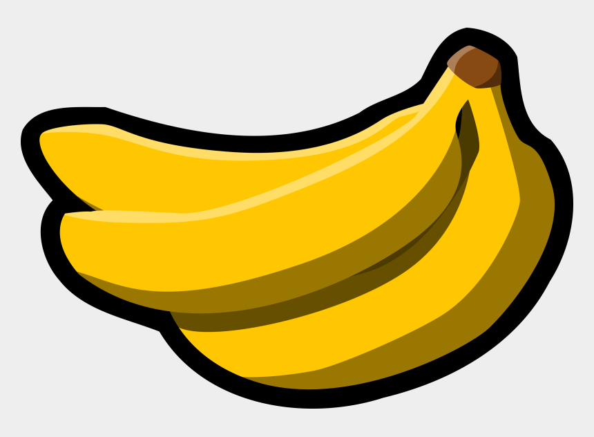 banana clip art, Cartoons - Banana Clipart Black And White - Banana Clip Art