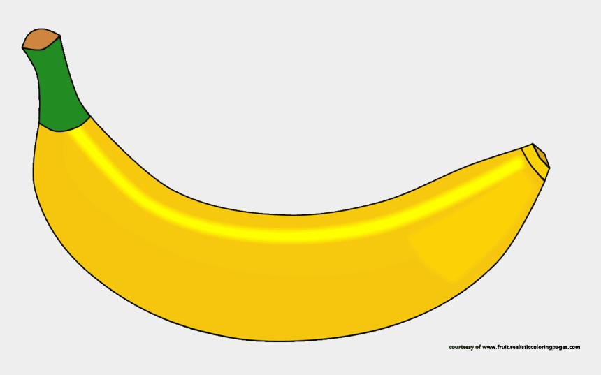 banana clip art, Cartoons - Banana Clipart