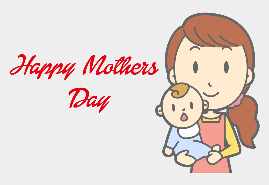 mother's day clipart, Cartoons - Happy Mother Day Png