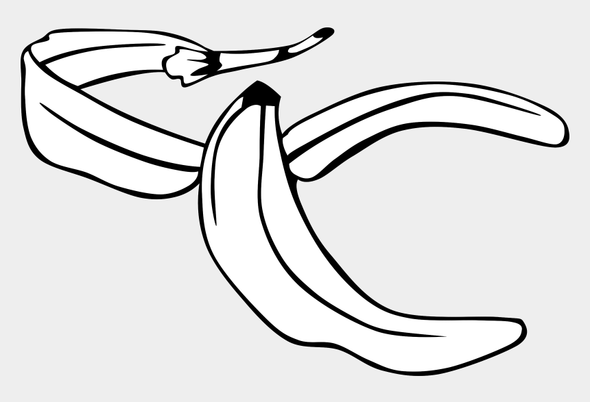 banana clip art, Cartoons - Peel - Clipart - Banana Peel Coloring Page