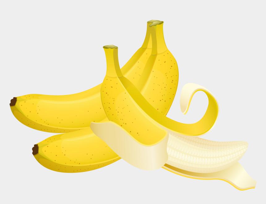 banana clip art, Cartoons - Large Painted Bananas Clipart - Saba Banana