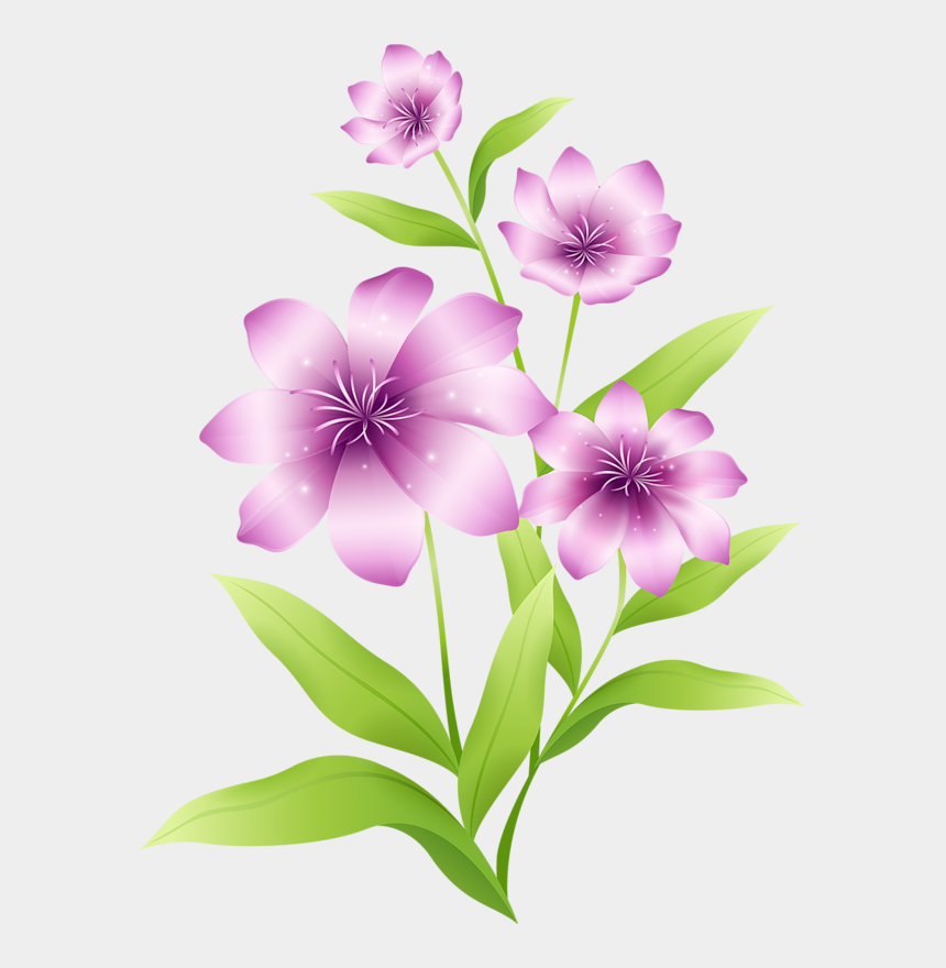spring flowers clipart, Cartoons - Clipart Flowers - Free Printable Clip Art Real Flower