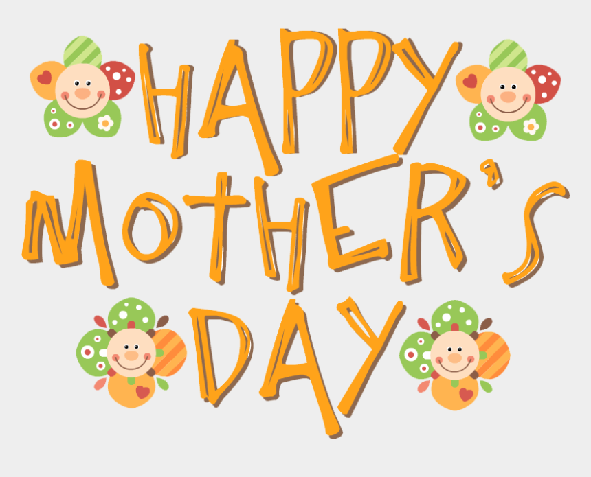 mother's day clipart, Cartoons - Mothers Day Png File - Happy Mothers Day Words Png