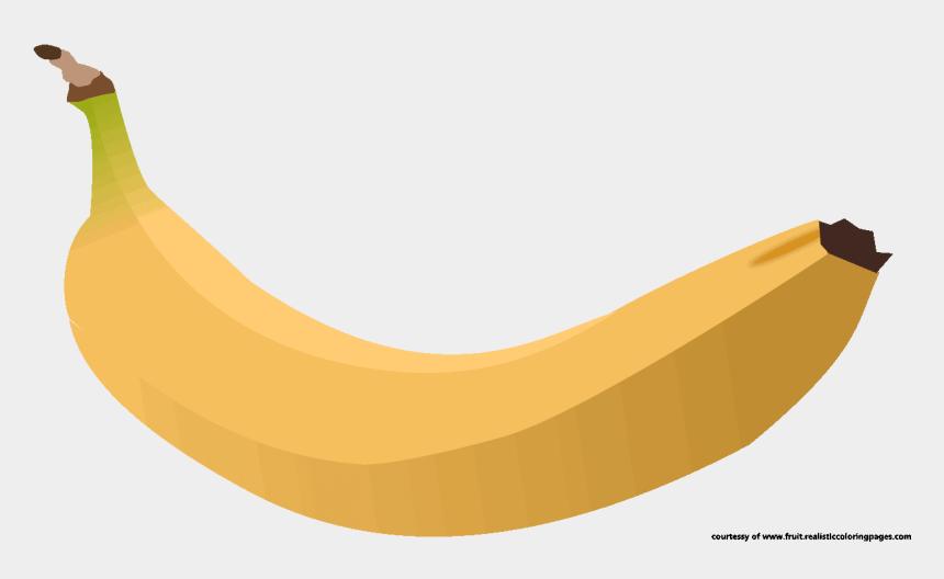 banana clip art, Cartoons - Banana Clipart Real Fruit - Saba Banana