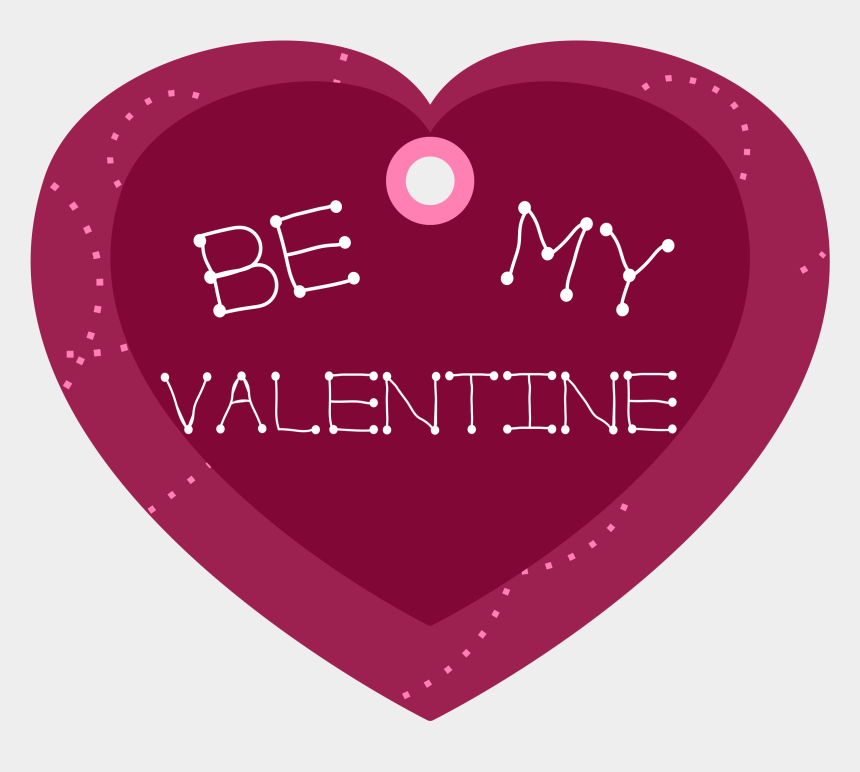 valentine clipart, Cartoons - Heart Shaped Clipart Valentine's Day - My Valentine With Transparent Background