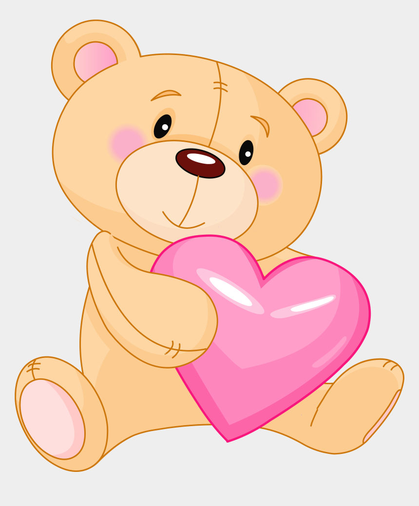 valentine clipart, Cartoons - Cute Valentine Png - Teddy Bear Clipart Png