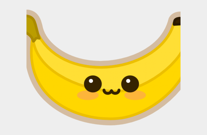 banana clip art, Cartoons - Banana Clipart Kawaii - Como Desenhar Uma Banana Kawaii