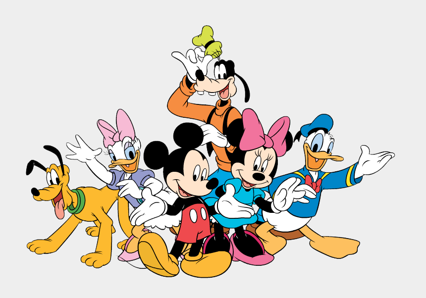 mickey mouse clubhouse clipart, Cartoons - Friends Clipart Mickey Mouse Clubhouse - Mickey Mouse And Friends Png