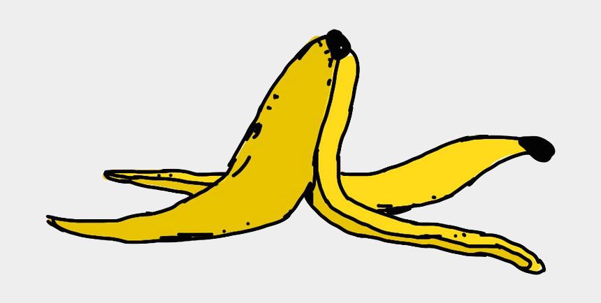 banana clip art, Cartoons - Clark University Freudian Slip Ⓒ - Banana Peel Clipart Png
