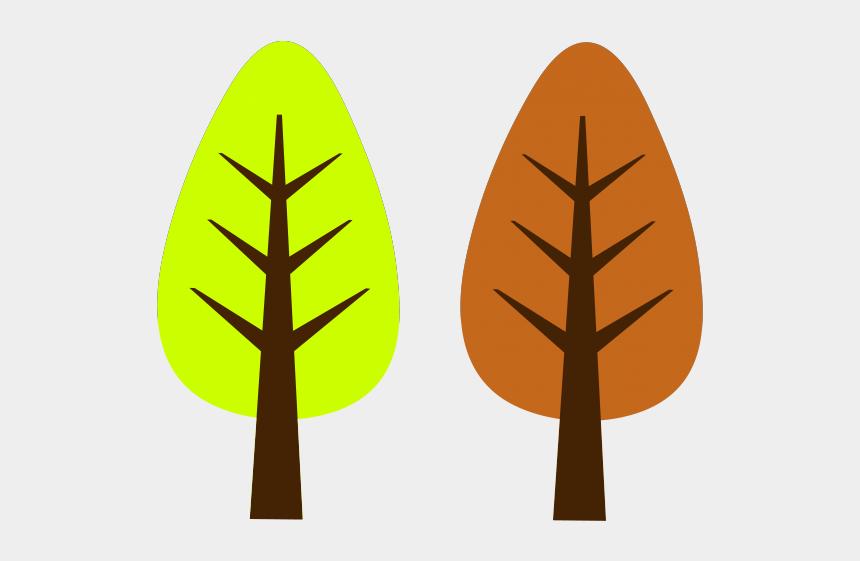 autumn clip art, Cartoons - Autumn Clipart Simple - Cute Christmas Tree Clip Art