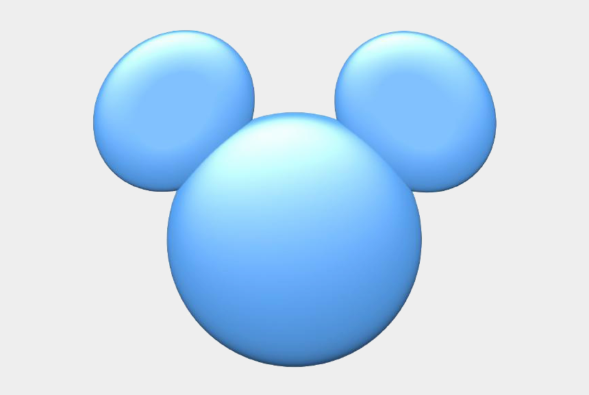 mickey mouse clubhouse clipart, Cartoons - 28 Collection Of Blue Mickey Mouse Ears Clipart - Baby Mickey Mouse Head Blue