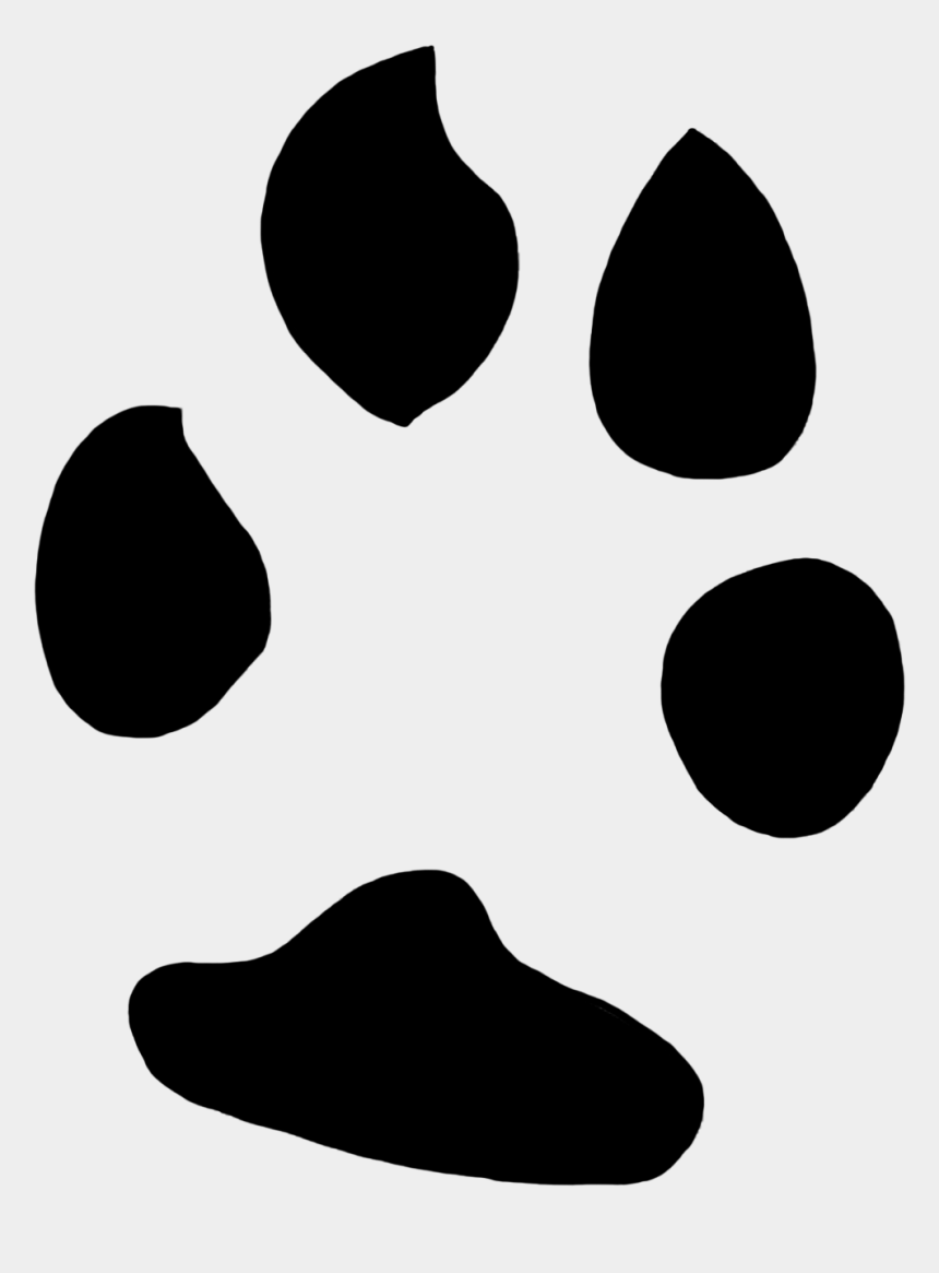 paw print clipart, Cartoons - Animal Paw Prints Elephant, Dingo Paw Print, Female - Rabbit Paw Print Png