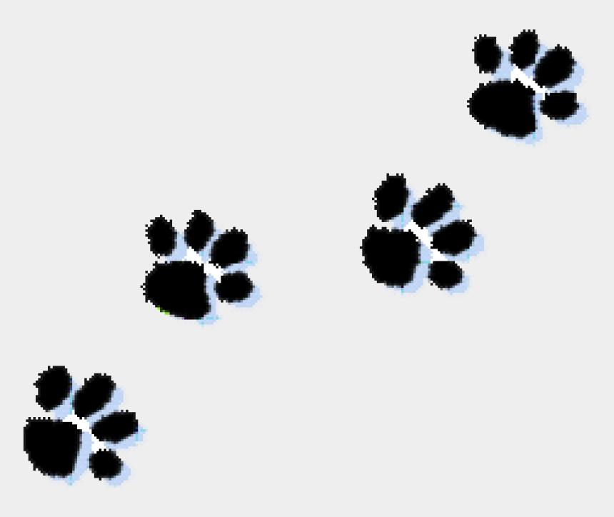 paw print clipart, Cartoons - Cat Paw Print Clip Art - Transparent Paw Prints Clip Art