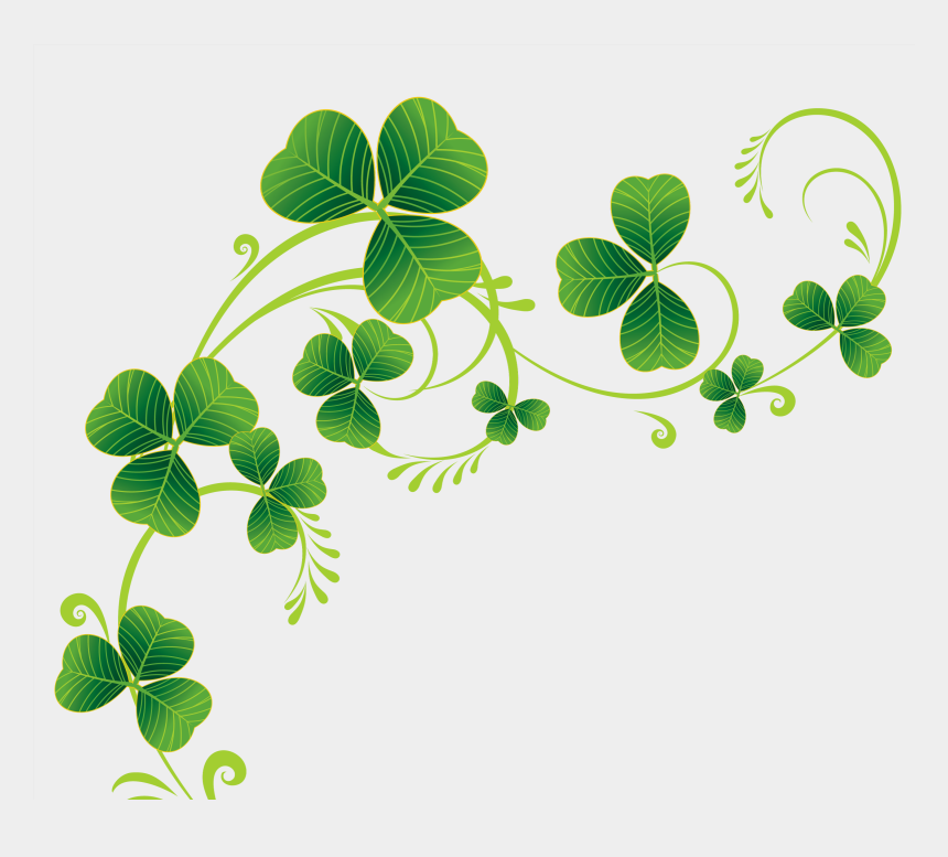 four leaf clover clipart, Cartoons - Shamrock Clipart Christmas - Clip Art Shamrocks