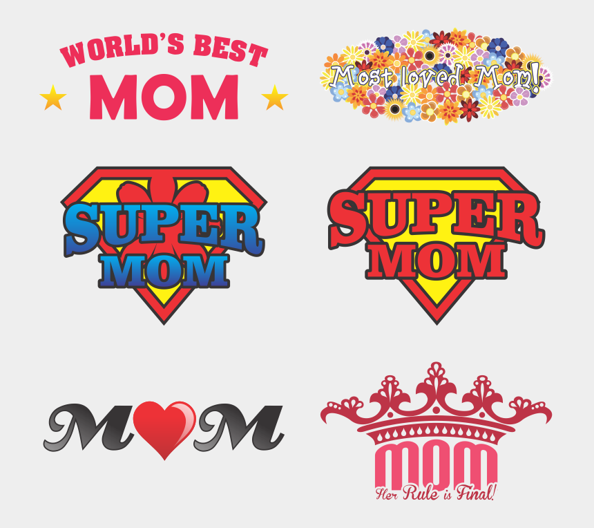 mother's day clipart, Cartoons - Mother Vector Mother's Day - Designs For Mother's Day
