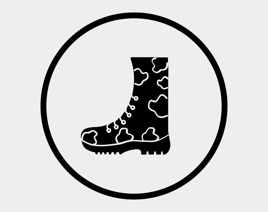 cowboy boots clipart, Cartoons - Boot Clipart Army Boot - Work Boots