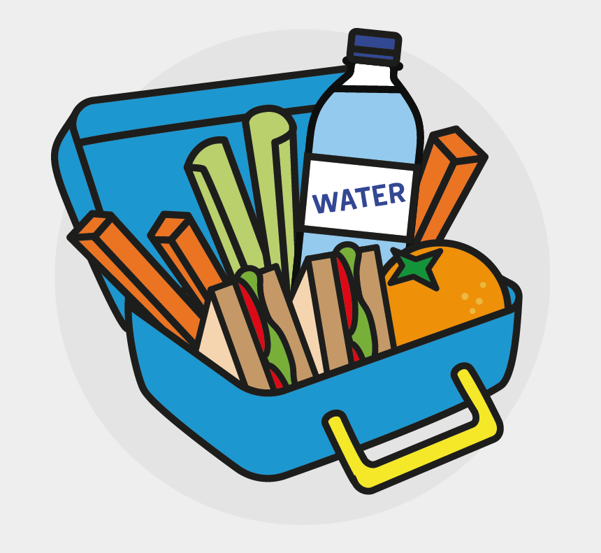 eating breakfast clipart, Cartoons - Hatherley Infant School Eating We Have Our Ⓒ - Healthy Lunch Box Cartoon