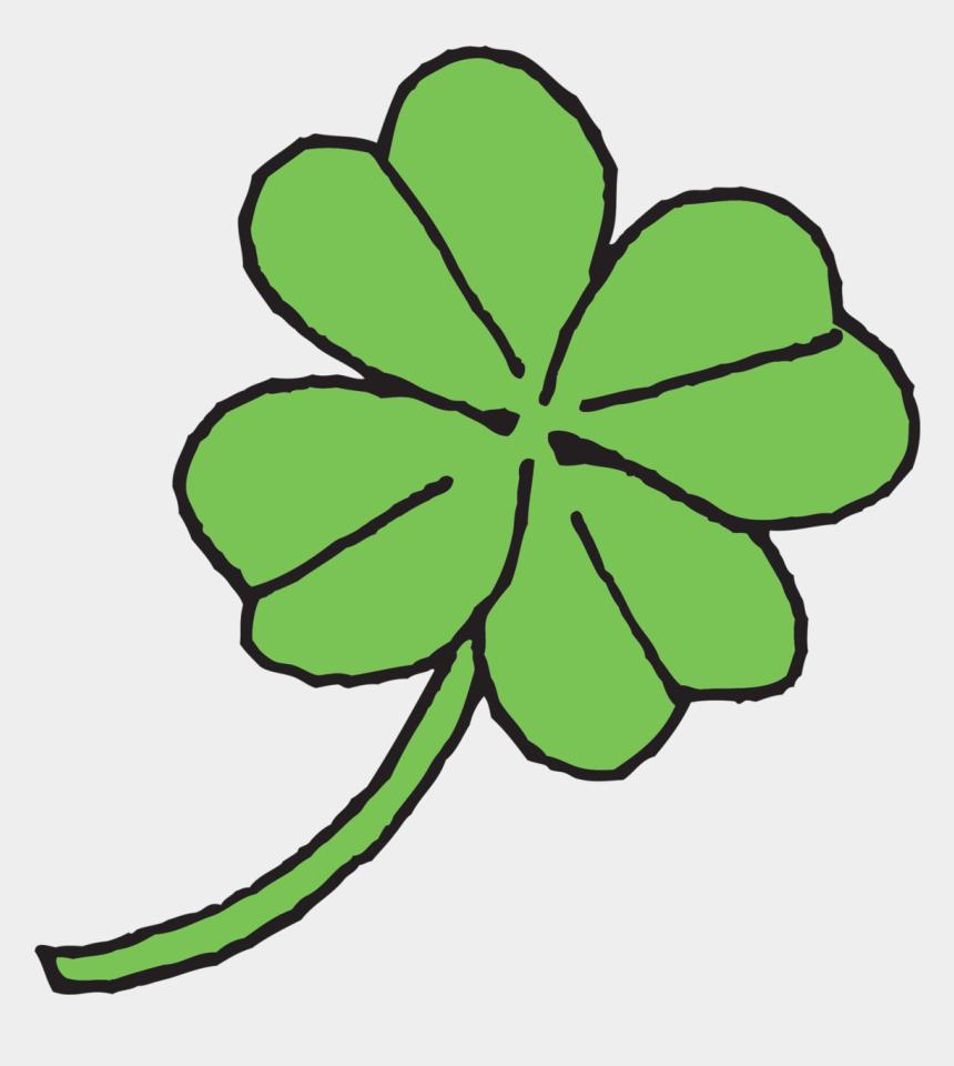 four leaf clover clipart, Cartoons - Four-leaf Clover