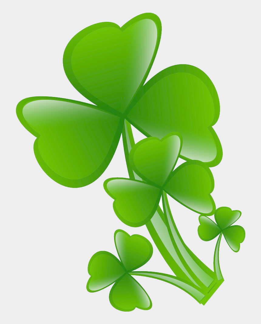 four leaf clover clipart, Cartoons - White Clover Png - Clover Leaves Png