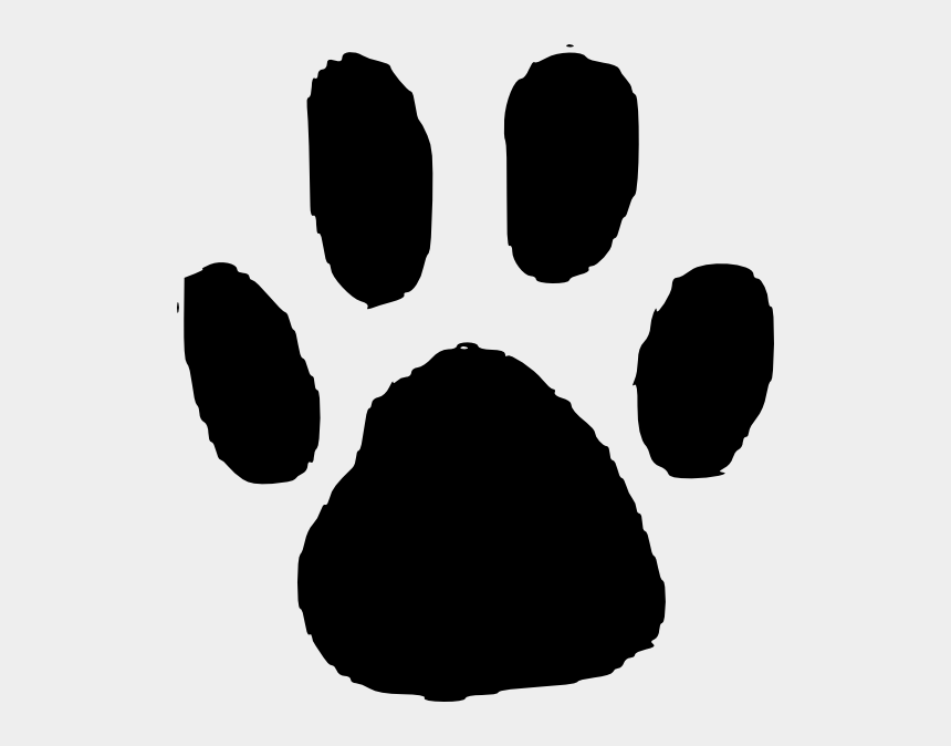 paw print clipart, Cartoons - Paw Print Page Of Bclipart Clip Art - Transparent Background Paw Print Border