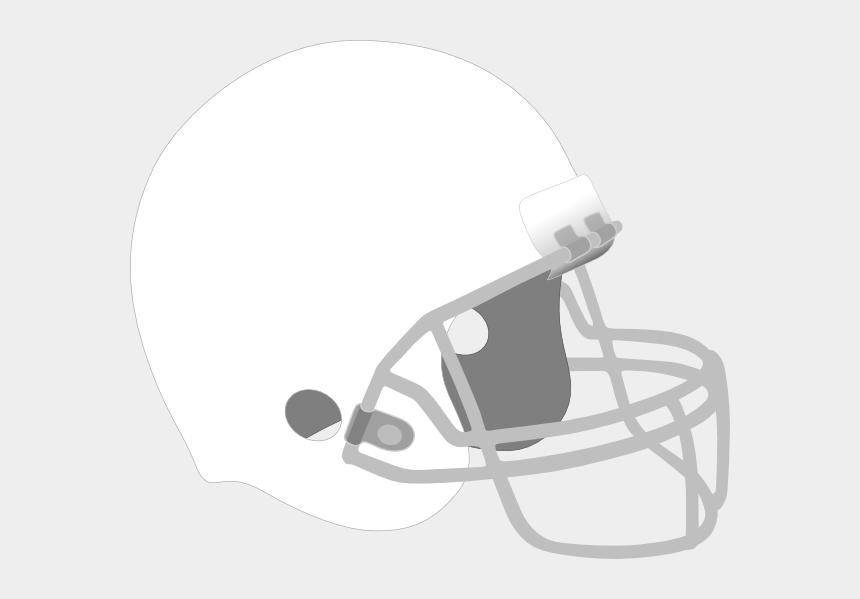 helmet clipart, Cartoons - Black Football Helmet Png - White Football Helmet Clipart