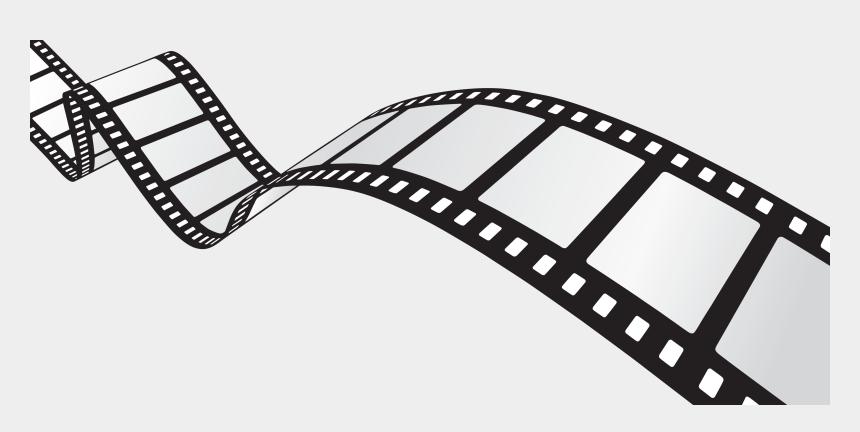 movie reel clip art, Cartoons - Film Reel Border Png - Film Reel
