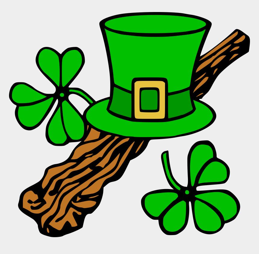 four leaf clover clipart, Cartoons - Shamrock Clipart Girl - Saint Patrick's Day Clipart