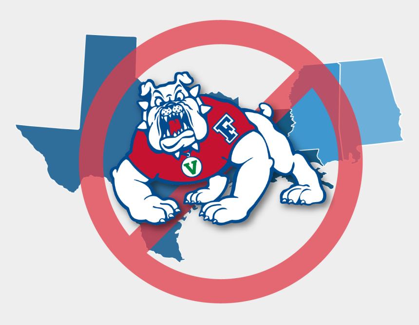 bulldog clip art, Cartoons - Southern States With Bulldog Logo-01 - Fresno State Bulldogs