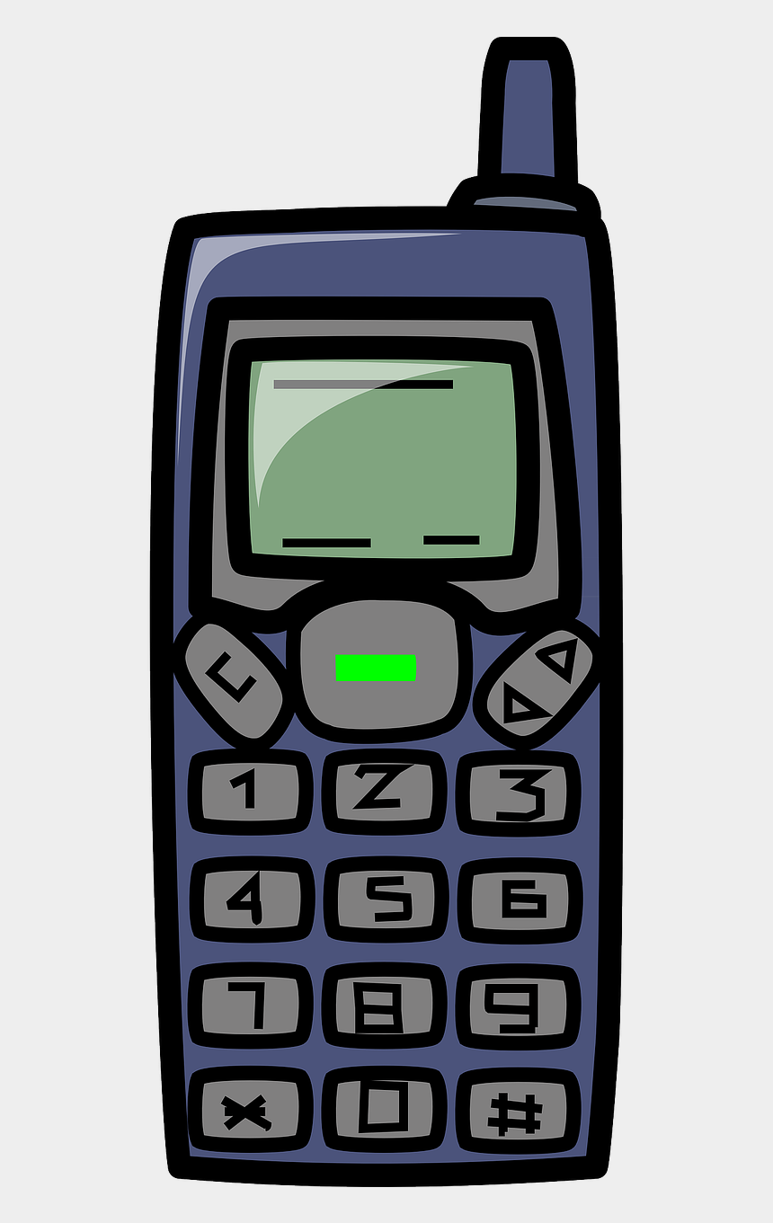 Cell Phone Clipart Old Cell Phone Cartoon Cliparts Cartoons Jing Fm