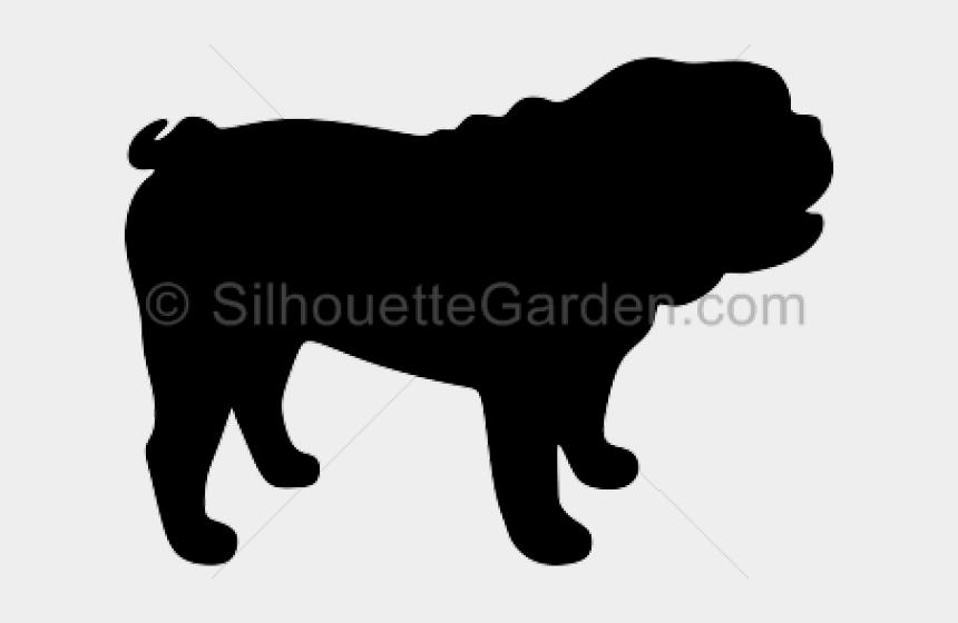 bulldog clip art, Cartoons - English Bulldog Clipart Clip Art - Black Bulldog Silhouette