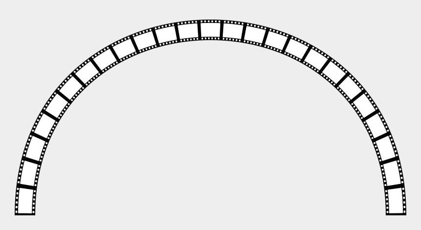 movie reel clip art, Cartoons - Film Reel Png - Film Strip Circle Png