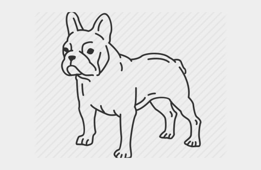 bulldog clip art, Cartoons - French Bulldog Clipart Easy Draw - Bulldog