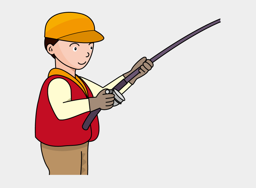 fishing clipart, Cartoons - Fishing Pole Fishing Rod And Reel Clipart Kid Image - Clipart Fisherman With Rod