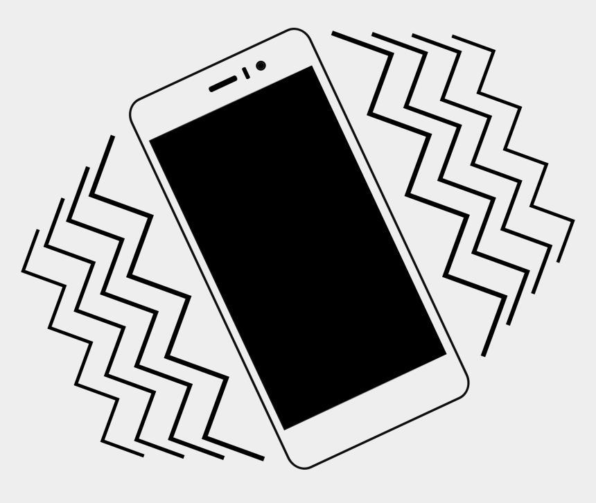 cell phone clip art, Cartoons - Mobile Phone Vibration - Vibrate Phone