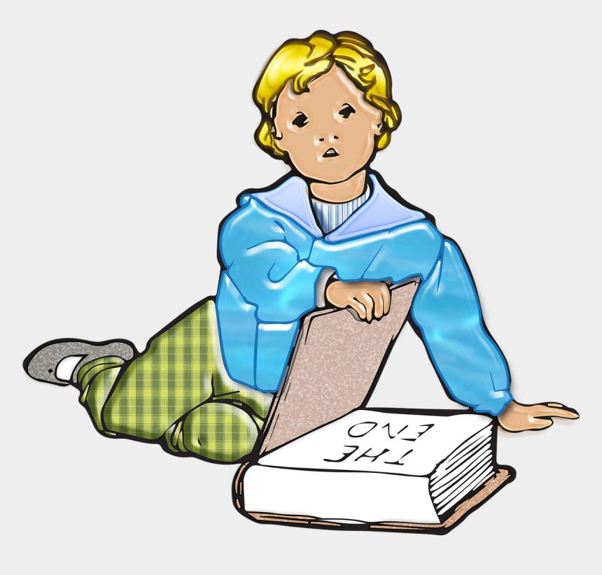 children reading clipart, Cartoons - Boy, Child, Little Ones, Kid, Vintage - Vintage Illustrations Of Children